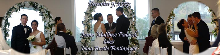 James and Penny Paddock Banner