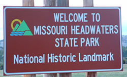 Welcome to missouri Headwaters State Park