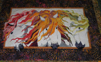 Earth, Wind, Fire Quilt