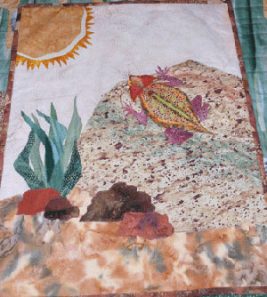 Horny-Toad Quilt
