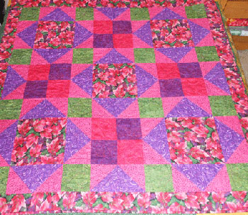 Maple Leaf Dance Quilt